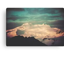Sunset Mountains II Canvas Print