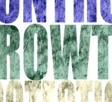Chaos, Control, Growth, Protection, & Sacrifice Sticker