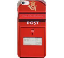 Copenhagen Postbox iPhone Case/Skin