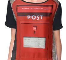 Copenhagen Postbox Chiffon Top