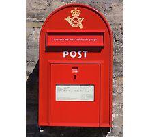 Copenhagen Postbox Photographic Print