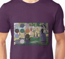 A Sunday Afternoon on the Island of La Grande Jatte Modernized Unisex T-Shirt