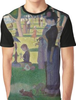 A Sunday Afternoon on the Island of La Grande Jatte Modernized Graphic T-Shirt