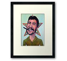 El Che Guevara by Diego Manuel Framed Print