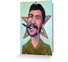 El Che Guevara by Diego Manuel Greeting Card