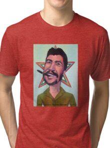 El Che Guevara by Diego Manuel Tri-blend T-Shirt