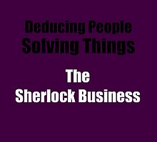 The Sherlock Business by Baeleigh