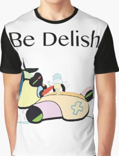 Be Delish TeddyDead  Graphic T-Shirt