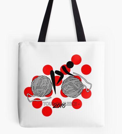 Tour De Fleece 2016 | Red Tote Bag