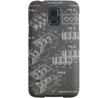 LEGO Construction Toy Blocks US Patent Art blackboard Samsung Galaxy Case/Skin