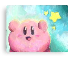 Kirby! Canvas Print