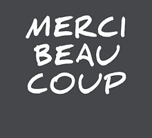 Merci Beaucoup – Thanks You Very Much Women's Fitted V-Neck T-Shirt