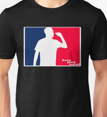 Beer Pong Legend Unisex T-Shirt