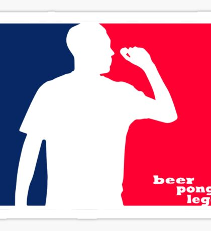 Beer Pong Legend Sticker
