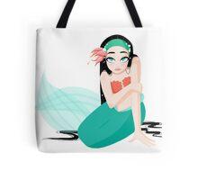Spunky Mermaid Tote Bag