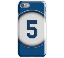 5 - Seager (alt version) iPhone Case/Skin
