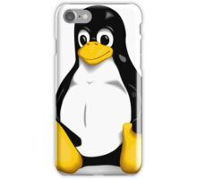 Tux the Linux Penguin - Acceptable Resolution iPhone Case/Skin