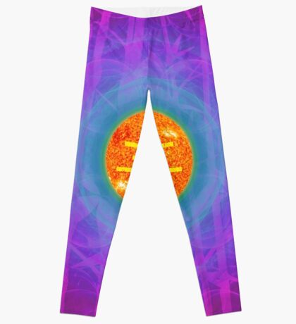 Bamboo Empire 24th Sun    Future Life Fashion    Fractal Art Leggings