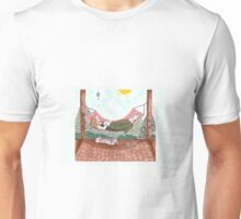 Napping in a hammock Unisex T-Shirt