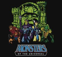 Monsters of the Universal by Chema Bola8