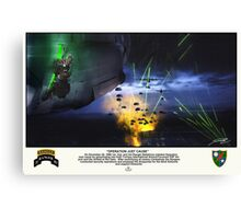 Operation Just Cause Canvas Print