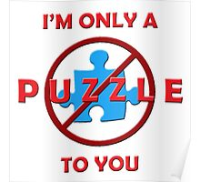 Only a Puzzle to You (3D) Poster