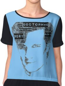 11th doctor Chiffon Top