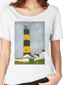 St. John's Point Lighthouse Women's Relaxed Fit T-Shirt