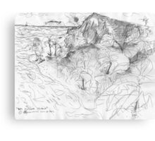 MY PRIVATE ISLAND(SKETCH)(C2012) Canvas Print