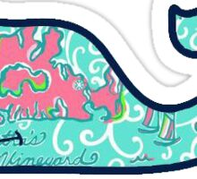 Vineyard Vines Lilly Pulitzer Maps Sticker