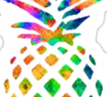 Rainbow Pineapple Sticker