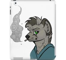 Mutt - Smoking  iPad Case/Skin