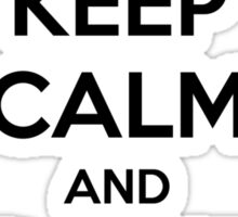 Keep Calm and Don't Tapout Sticker