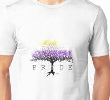 Non Binary Pride Cherry Tree Unisex T-Shirt