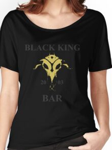 Black King Bar Women's Relaxed Fit T-Shirt