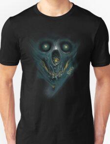 """INSAMNIA's """"blue skull"""" Unisex T-Shirt"""