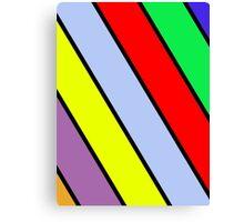 Vibrant Stripes Canvas Print