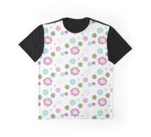Modern Chic Floral Pattern Graphic T-Shirt