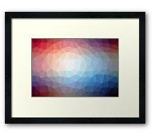 Geometrics Original Vector Artwork - v003 Framed Print