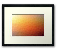 Geometrics Original Vector Artwork - v004 Framed Print