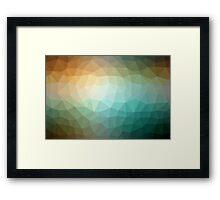Geometrics Original Vector Artwork - v007 Framed Print