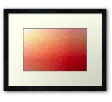 Geometrics Original Vector Artwork - v008 Framed Print