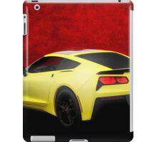 Corvette C-7 HDR Enhanced! iPad Case/Skin