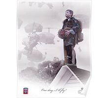 82nd Airborne- One day I will fly Poster