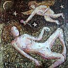 woman and angel by danielgomez
