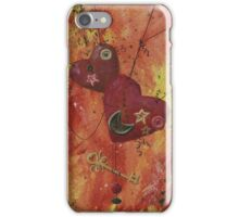 Buttoned Hearts and Skeleton Key iPhone Case/Skin