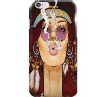 cool girl iPhone Case/Skin