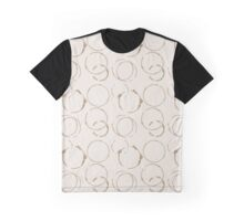 Coffee Stains Graphic T-Shirt