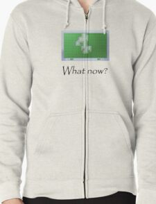 What is your choice? Zipped Hoodie