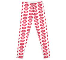 Lipstick Kiss Leggings